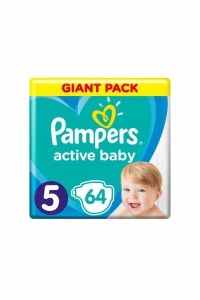 Pampers giant pack 5 junior active baby